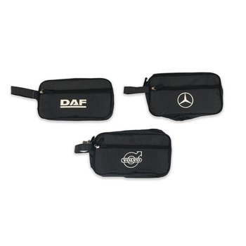 Toiletry bag with logo