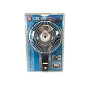 Fan 12V with clamp 15cm