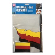Set of flags Germany 4 parts
