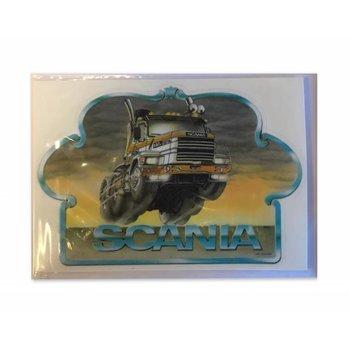 Aufkleber oldskool Scania