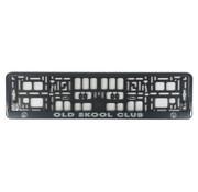 Nummerplaathouder Old skool club