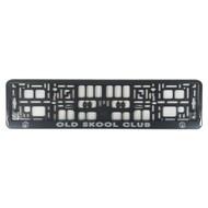 Kennzeichenhalter Old skool club