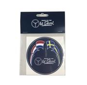 Sticker Back to the Oldskool NL-SE