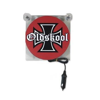 Lichtkasten Oldskool cross 12/24V