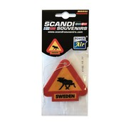 Air freshener Sweden Moose Warning