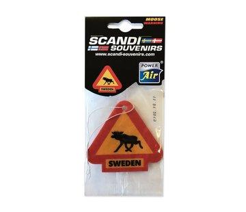 Lufterfrischer Schweden Moose Warning