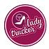 Aufkleber Lady Trucker