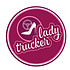Sticker Lady Trucker 10cm