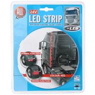 LED Streifen rot 24V mit Bremsfunktion 2.5M