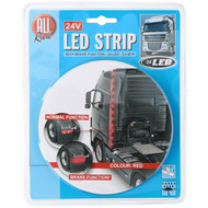 LED strip red 24V with braking function 2.5M