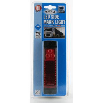 LED zijmarkeringslamp - Rood