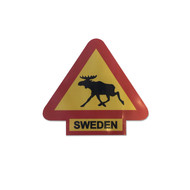 Sticker Moose - Sweden