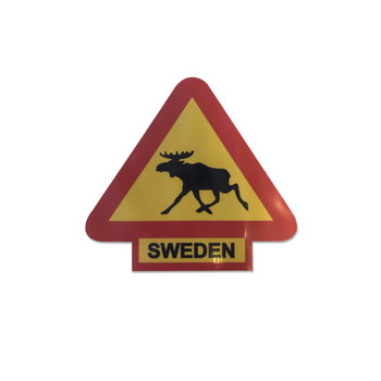 Sticker Eland - Sweden