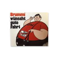 Sticker Brummi wünscht