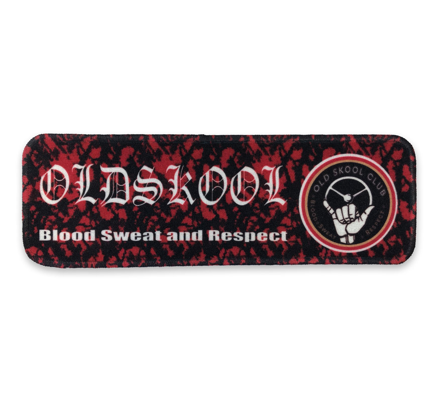 Dashboardmat - Oldskool rood