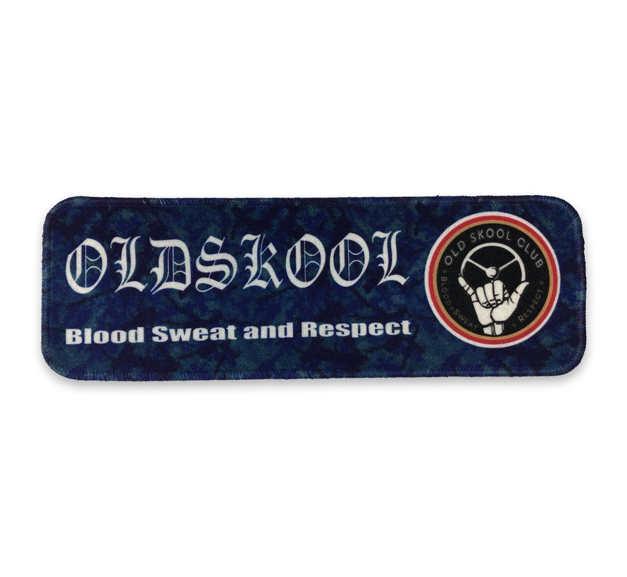 Dashboardmat - Oldskool blauw