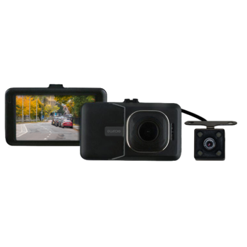 Guardo Full HD Dual Dashcam