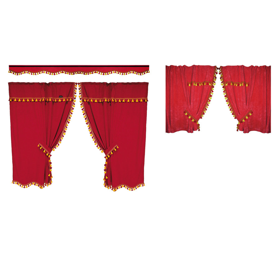 Curtain set NEW DREAM - High cabin - Different colors