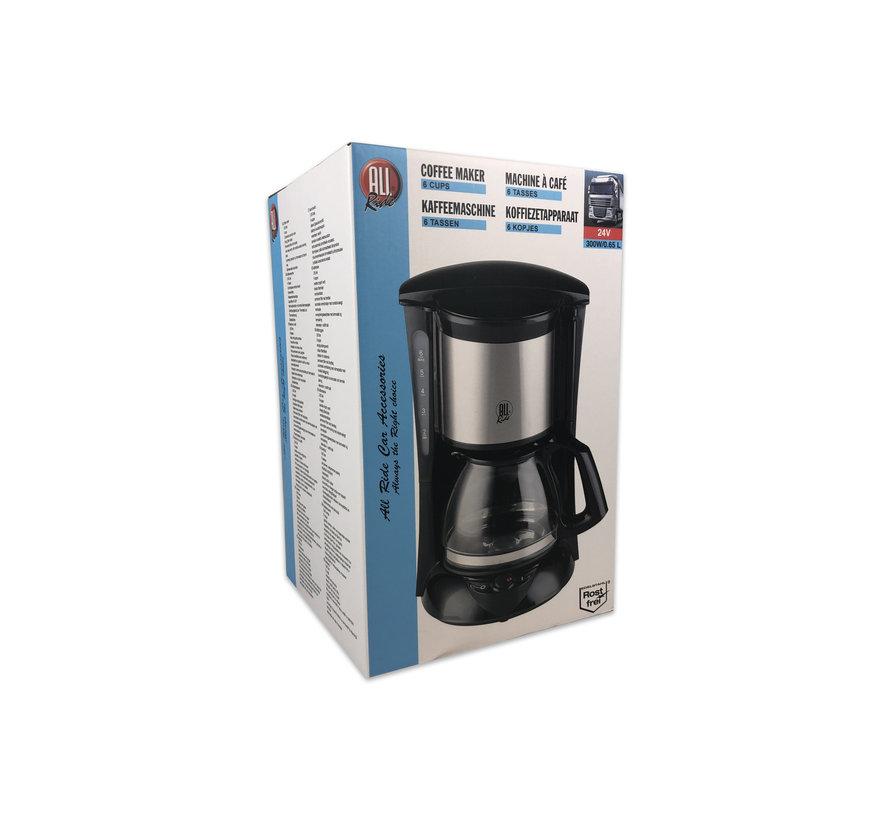 Coffee maker 24V - 6 cups - 300W/0.65L