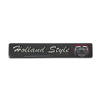 Fun plate Holland Style - grey