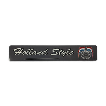Fun plate Holland Style - grijs