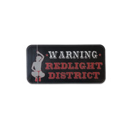 Sticker - Warning Redlight District