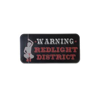 Sticker - Warning Redlight District