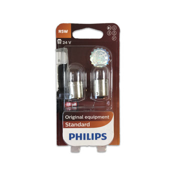 Philips 24V - 5W - BA15S  - 2 pieces