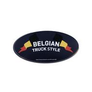 Sticker Belgian Truck Style