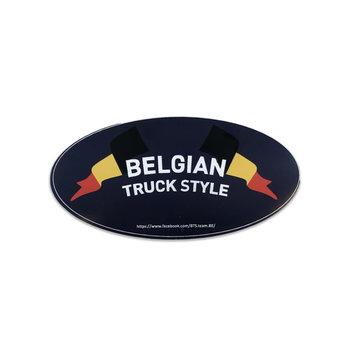 Aufkleber Belgian Truck Style