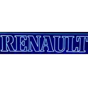 Ledplaat Renault blauw