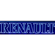 Led plate Renault different colors