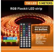 Quintezz RGB LED Flexkit - 150 LED