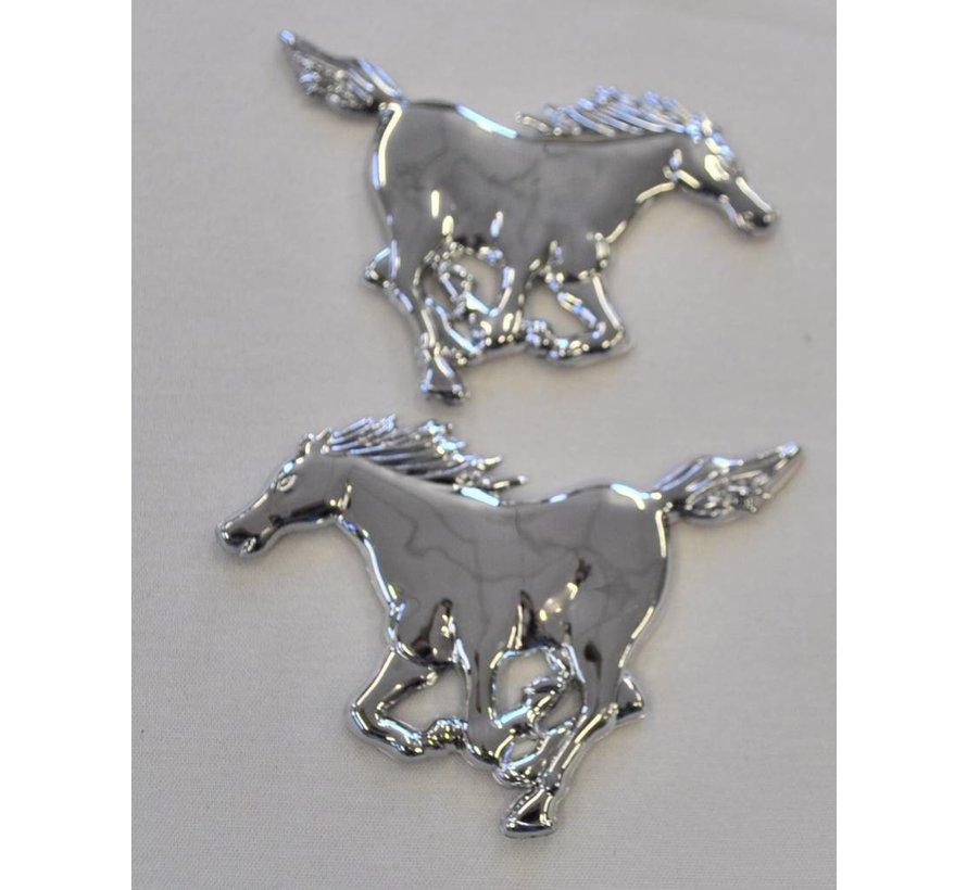 Chromen Decoratie Paard Joostshop