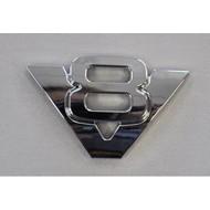 Chromdekoration V8