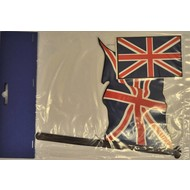 Vlaggenset Groot-Brittannië 4delig