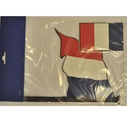 Vlaggenset Frankrijk 4delig