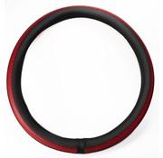 Steering wheel cover red 44-46
