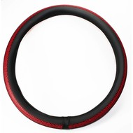 Steering wheel cover red 44-46