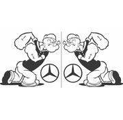 Popeye Mercedes 2 st