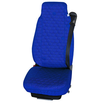 Universal seat cover blue
