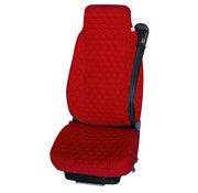 Universal seat cover red