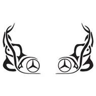 Raamtribal Mercedes 2 st