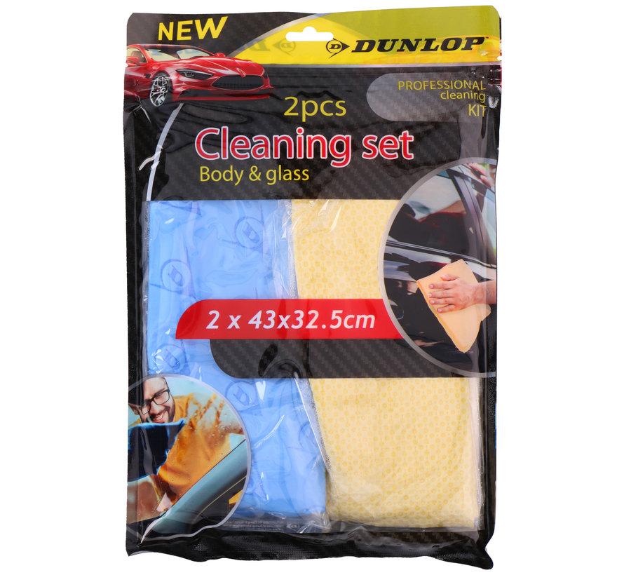 Dunlop schoonmaakset 2 stuks