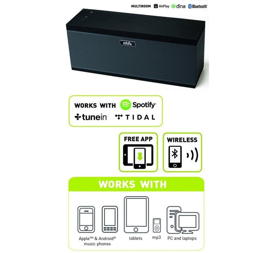 Wifi speaker XXL