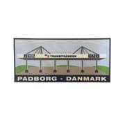 Sticker Transitgarden Danmark