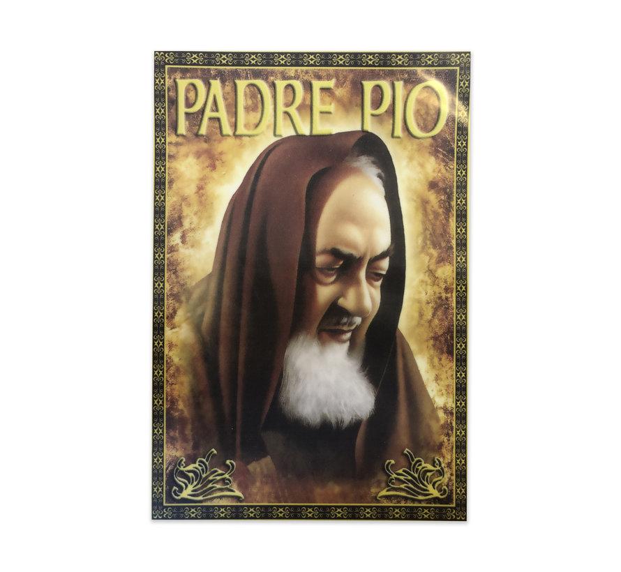 Aufkleber Padre Pio