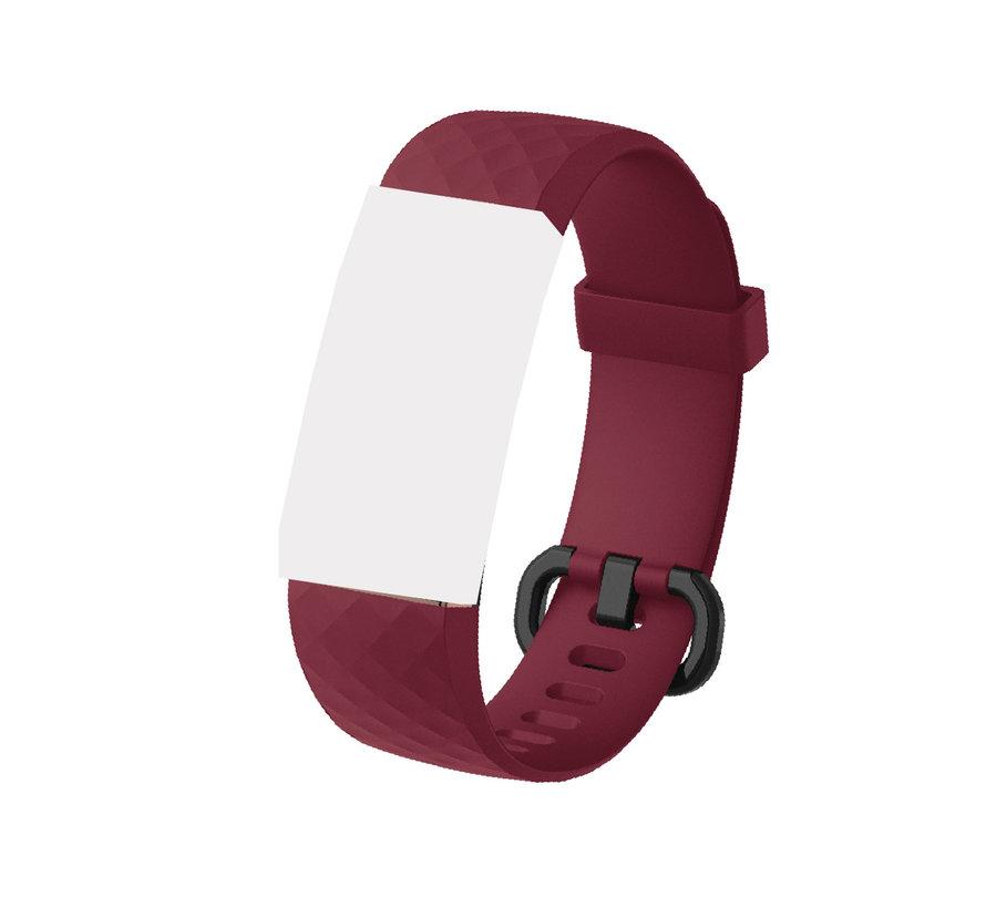 Extra bracelet for Guardo Fit Coach Unique 2 - wine red