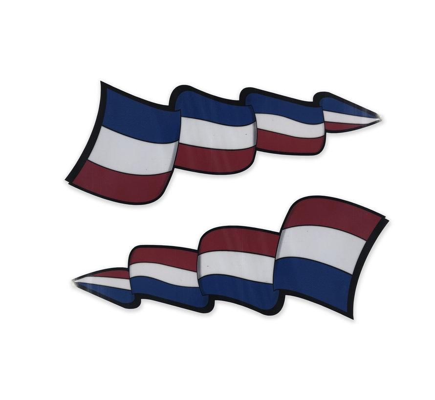 Pennant sticker set Netherlands