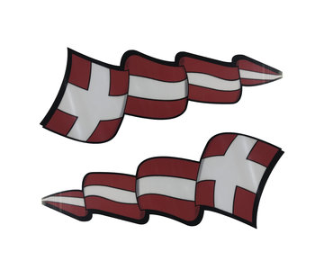 Pennant sticker set Denmark